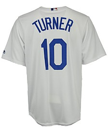 Majestic Men's Justin Turner Los Angeles Dodgers Player Replica CB Jersey