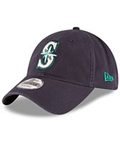 separation shoes 40a0b 6177c New Era Seattle Mariners On Field Replica 9TWENTY Fitted Cap