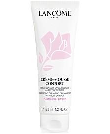 Lancôme Crème Mousse Confort Creamy Foaming Cleanser, 4.2 fl oz.