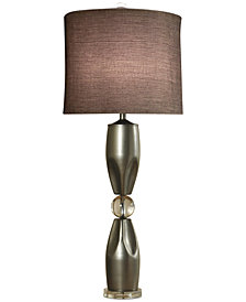 Harp & Finial Genoa Table Lamp