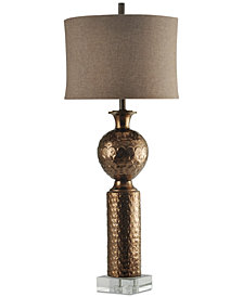 Harp & Finial Catalina Table Lamp