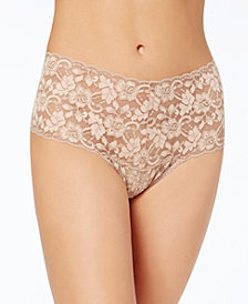 Hanky Panky Retro High-Waist Lace Thong 591924