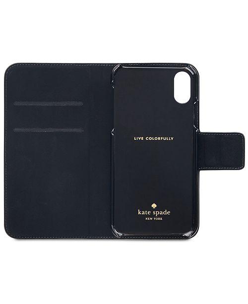 big sale e5d2f b061c Wrap Folio iPhone X Case