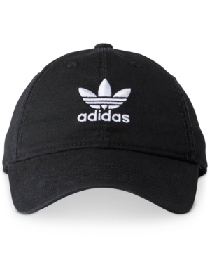 Adidas Originals Women S Originals Precurved Washed Strapback Hat ... f0cc19f5084