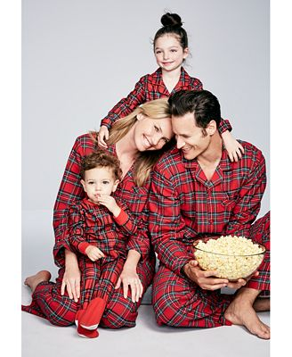 Family Pajamas Holiday Plaid Pajama Sets, Created for Macy's