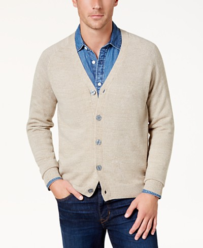 Weatherproof Vintage Men's Soft Touch Cardigan Sweater