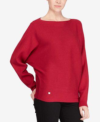 Lauren Ralph Lauren Dolman Sleeve Sweater Sweaters Women Macys