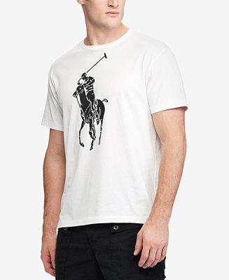 575e6271f468 Polo Ralph Lauren Men s Classic-Fit Big Pony T-Shirt   Reviews - T-Shirts -  Men - Macy s