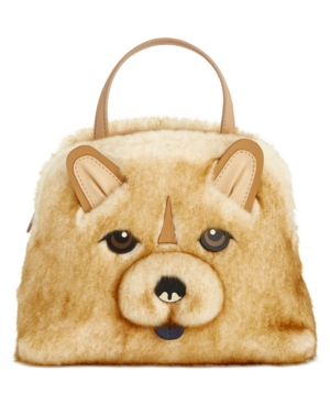 Kate Spade Leathers KATE SPADE NEW YORK YEAR OF THE DOG CHOW CHOW LOTTIE SMALL SATCHEL