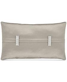"""J Queen New York Satinique 12"""" x 20"""" Boudoir Decorative Pillow"""
