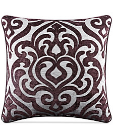 "J Queen New York Sicily 20"" Square Decorative Pillow"