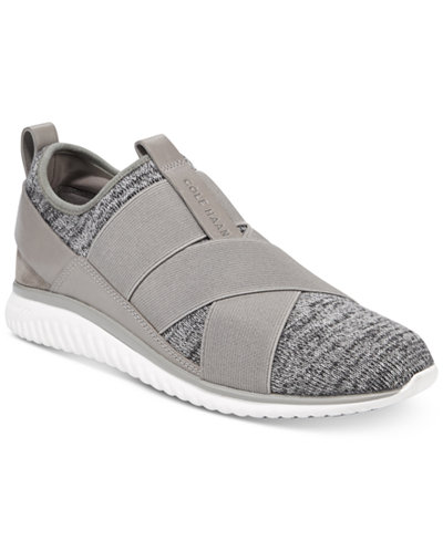 Cole Haan Women's StudiøGrand Cross-Strap Knit Trainer Sneakers