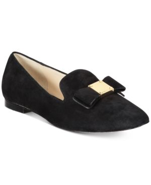 TALI BOW LOAFERS