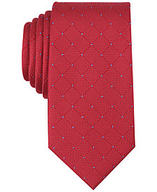 Perry Ellis Men's Sedium Grid Tie