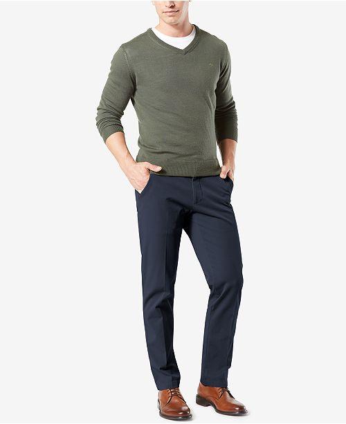 c5a316e45068 ... Dockers Men s Workday Straight Fit Smart 360 FLEX Khaki Stretch Pants  ...