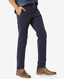 Dockers Men's Alpha Slim Tapered Fit  Smart 360 FLEX Khaki Stretch Pants
