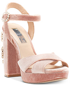 I.N.C. Rosarria Block-Heel Sandals, Created for Macy's