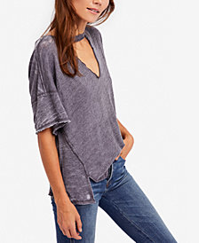 Free People Jordan Cutout T-Shirt