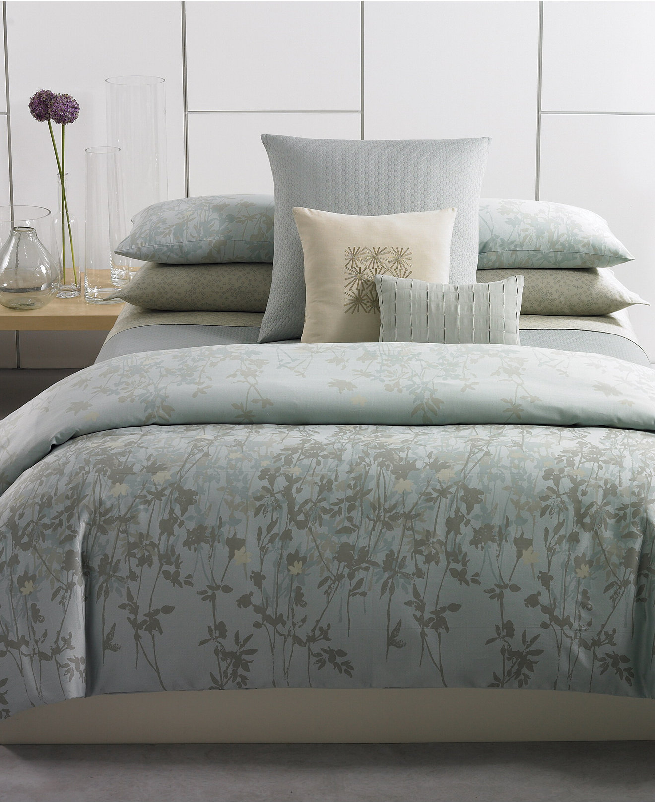 Calvin Klein Bedroom Furniture Closeout Calvin Klein Marin Comforter And Duvet Cover Sets