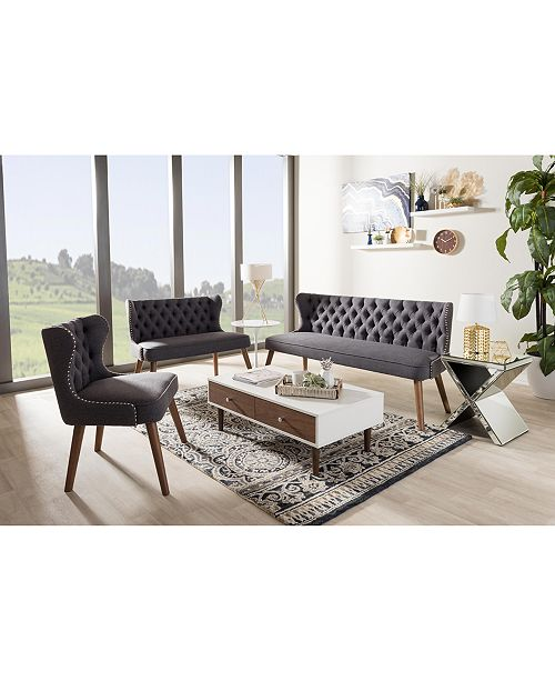 furniture scarlett living room collection, quick ship - furniture