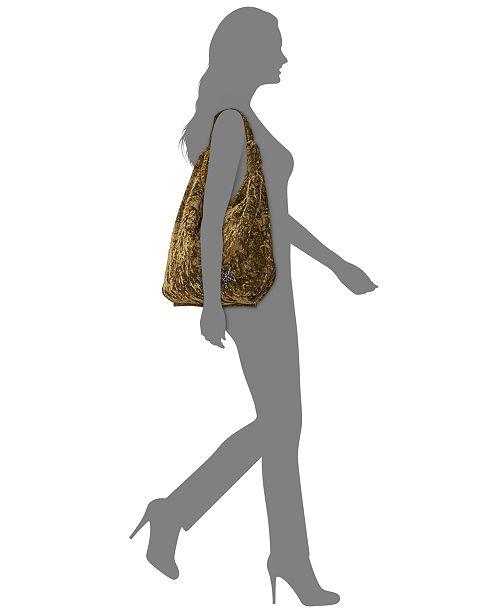 ab0a6baf396 Steve Madden Crushed Velvet Phoenix Hobo & Reviews - Handbags ...