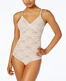 Bali Women's  Firm Tummy-Control Lace N Smooth Body Shaper 8L10