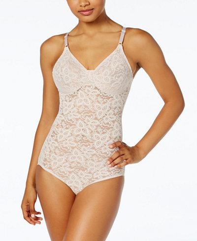 Bali Firm Tummy-Control Lace N Smooth Body Shaper 8L10