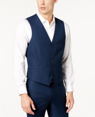 I.N.C. Men's Slim-Fit V-Neck Vest, Created for Macy's