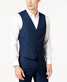 I.N.C. Men's Slim-Fit V-Neck Vest, Created for Macy's