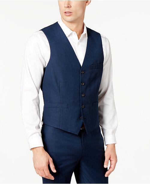 INC International Concepts INC Men's Slim-Fit V-Neck Vest, Created for Macy's
