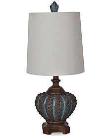 Crestview Reer Shell Table Lamp