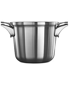 Calphalon Premier Space-Saving Stainless Steel 4.5-Qt. Soup Pot & Lid