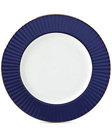 Lenox Pleated Colors Navy  Dinner Plate