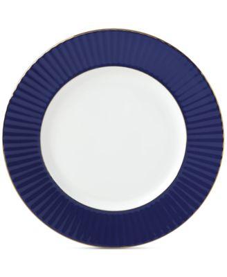 Lenox Pleated Colors Navy Dinner Plate  sc 1 st  Macy\u0027s & Lenox Pleated Colors Navy Dinner Plate - Fine China - Macy\u0027s