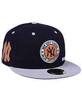 New Era New York Yankees X Wilson Circle Patch 59FIFTY Fitted Cap bd6ffd81ca1