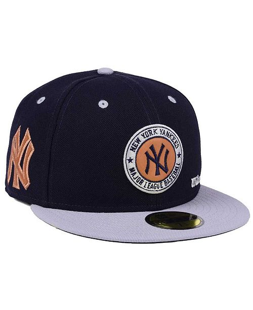... New Era New York Yankees X Wilson Circle Patch 59FIFTY Fitted Cap ... 064f2a0529f