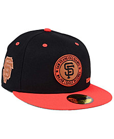 New Era San Francisco Giants X Wilson Circle Patch 59FIFTY Fitted Cap