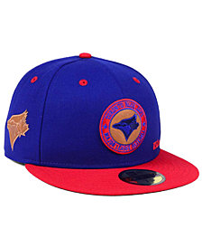 New Era Toronto Blue Jays X Wilson Circle Patch 59FIFTY Fitted Cap