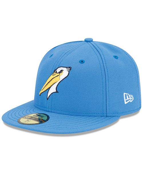 bdbaafb286337 New Era Myrtle Beach Pelicans Low Profile AC 59FIFTY Cap - Sports ...