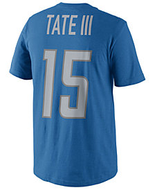 Nike Men's Golden Tate Detroit Lions Pride Name and Number T-Shirt