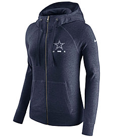 Nike Women's Dallas Cowboys Gym Vintage Full-Zip Hoodie