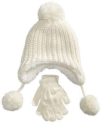 Berkshire 2-Pc. Heidi Hat & Gloves Set, Little Girls & Big Girls