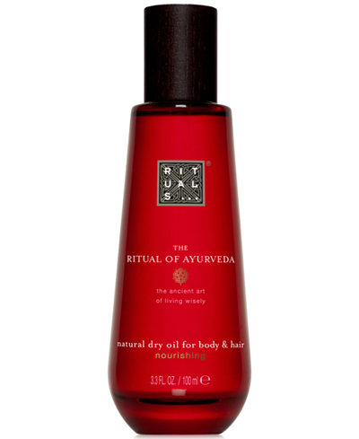 RITUALS The Ritual Of Ayurveda Natural Dry Oil For Body & Hair, 3.3-oz.