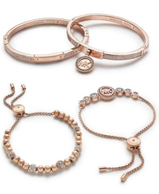 Michael Kors Rose GoldTone Jewelry Separates Jewelry Watches