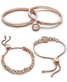 Michael Kors Rose Gold-Tone Jewelry Separates