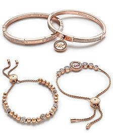 Michael Kors Rose Gold-Tone Jewelry Separates