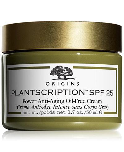 Origins Plantscription SPF 25 Anti-aging Oil-free Face Cream 1.7 oz.