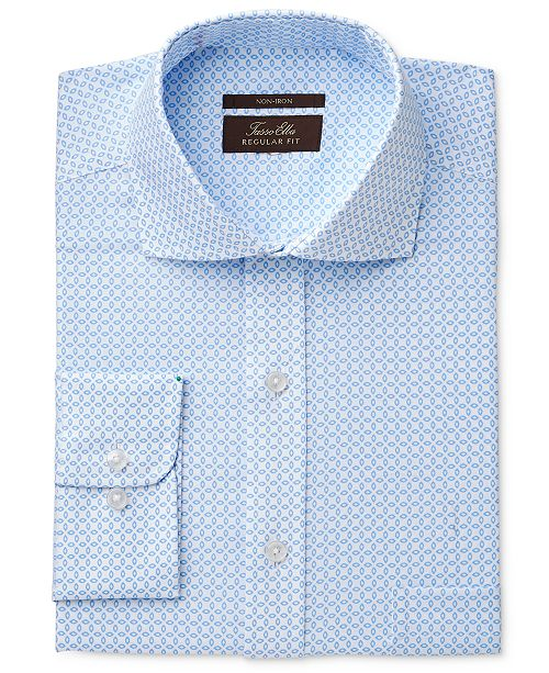 Lyst Eagle Clic Regular Fit Non Iron Flex Collar Red Stripe Dress Shirt In Blue For Men Save 72 97297297297297