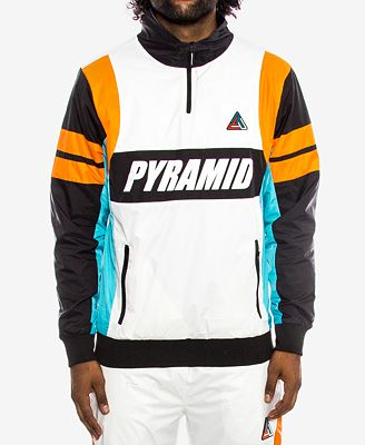 Black Pyramid Men's Colorblocked Track Jacket