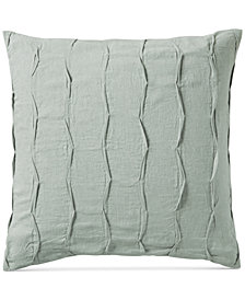 Hotel Collection Linen Brushstroke European Sham, Created for Macy's